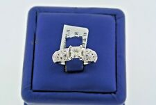 Simon G Designer Platinum 1.15 CT Diamond Engagement Ring, 8.1gm, Size 6.75