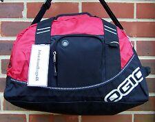 BLACK AND RED OGIO HOLDALL 44 CM  SPORTS BAG TRAVEL BAG GYM BAG SCHOOLBAG