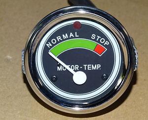 Temperaturanzeige Fernthermometer mechanisch luftgekühlt für Traktor (05