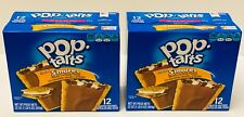 2 boxes Pop Tarts Toaster Pastries Frosted S'mores 12 Count each NEW Fresh
