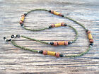 Men's Unisex Camo Mask Lanyard and/or Eyeglass Chain Holder Cord Brown Wood