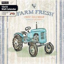 FARM FRESH - 2022 WALL CALENDAR - BRAND NEW - LANG ART 01745