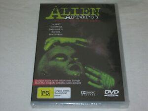 Alien Autopsy - Fact Or Fiction - Brand New & Sealed - Region 0 - DVD