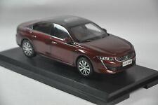 Peugeot 508L 2019 car model in scale 1:18 Red