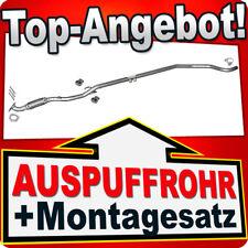 Rohr OPEL CORSA D 1.2 Schrägheck ab 07.2006 Auspuff Mittelrohr Flexrohr HHC
