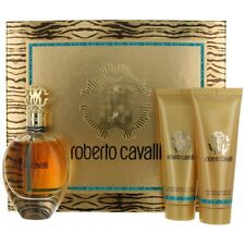 Roberto Cavalli Perfume by Roberto Cavalli, 3 Piece Gift Set for Women NEW