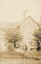 """""""This Is Our House We Just Got"""", Raymond Reel, Canton, Ohio OH RPPC 1911"""