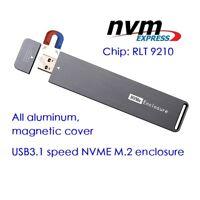 M2 NVMe SSD Case Enclosure M.2 PCI-e SSD to USB3.0 USB3.1 External SSD Box new
