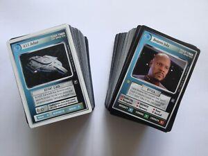 Deep Space 9 DS9 - Complete Set Inc. White Border WB Defiant - Star Trek CCG TCG