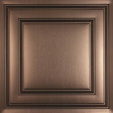 100 Tiles - Ceilume Stratford - 2' x 2' - Bronze, Copper, or Tin Available