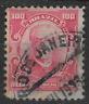 Brazil  Stamp 100 reis red - posted rio de janeiro 1913 see scan