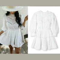NWT LoveShackFancy X Target White Talulah Pintuck Mini Dress [ SZ XXS ] #E981