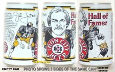 JACK LAMBERT PITTSBURGH STEELERS MAN CAVE BEER CAN NFL HALL FAME FOOTBALL SPORTS