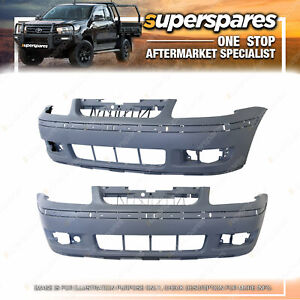 Front Bumper Cover With Mould Holes for Volkswagen Polo 6N 09/2000-07/2002