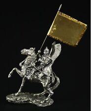 Polish Winger Hussar KIT Tin toy soldier 54 mm. metal