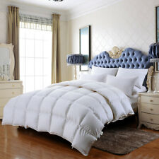 Luxurious Siberia 100% Goose Down Feather Comforter 1200Tc 280gsm King/Queen