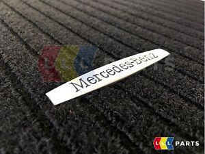 NEW GENUINE MERCEDES MB SLK CLASS W171 BLACK RIBBED CARPET FLOOR MAT SET RHD