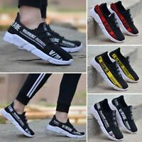 Men's Skate Shoes Lace Up Round Toe Breathable Athletic Fashion Sneakers new