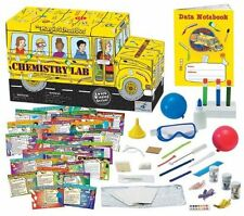 Young Scientist Club The Magic School Bus Chemistry Lab 51 Experiment Cards New