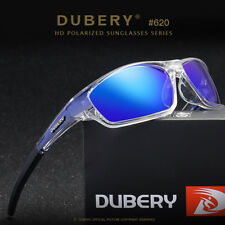 DUBERY Men Women Polarized UV400 Sunglasses Sport Driving Fishing Eyewear w/ Box