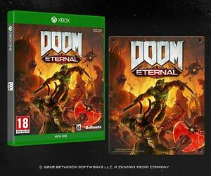 DOOM Eternal with Steel Poster Xbox One Brand New