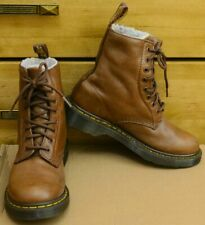 Dr Martens Serena, brown leather warm boots, Size UK 4, EU 37
