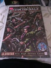 Max Brooks The Extinction Parade #1F, Mile High Edition Cover, NM, 2013