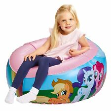 My Little Pony Junior Toddler Comfy Inflatable Chair with Flocked Seat 3+ - NEW