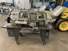 Wellsaw 1016 Capacity Horizontal Band Saw Single Phase With 10 Roller Table