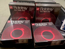 Set Of 6  GAF Rototray 100 Slide Trays For 2x2 Slides- All Sealed!!