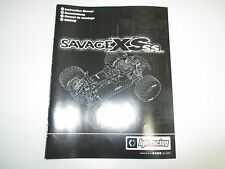 HPI 1/12 Savage XS SS Super Sport Instruction Manual Book ONLY OZ RC Models