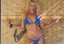 "RAMONA BERNHARD 49 Playmate ""Playboy"" Foto 13x18 signiert IN PERSON Autogramm"