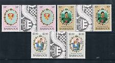 Barbados 1981 Royal Wedding GUTTER PR SG 674/6 MNH