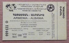 Tickets Armenia - Albania 1997