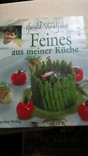 """Kochbuch Harald Wohlfahrt """" Feines aus meiner Küche"""" geb. Ausgabe Augustus Verl."""