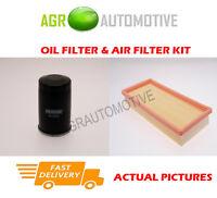 PETROL SERVICE KIT OIL AIR FILTER FOR ALFA ROMEO MITO 1.4 77 BHP 2011-