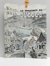 Vintage - IMAGES DE LA PROVINCE DE QUEBEC CANADA -  Tourist Booklet - 1950's