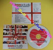 CD SOUNDTRACK Love Actually 981403-3 EUROPE 2003 no lp mc dvd(OST4)