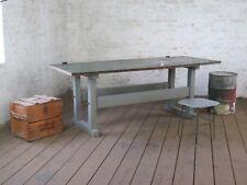 alter Industrial Couchtisch Schreibtisch Industrie Design Vintage antik Loft