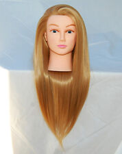 """(US SELLER) 30"""" Cosmetology Mannequin Synthetic Hair Human Head Standard PEGGY a"""