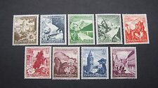 Germany Stamps B123-B131.  See Details and Pictures For All Information