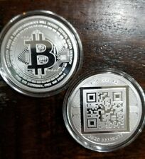 Bitcoin Cash BCH 1 oz .999 silver commemorative coin crypto currency BCC