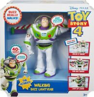Disney Toy Story 4 The Ultimate Walking Buzz Lightyear Figurine