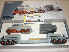 Corgi, CC 17602,  Scammell constructor & 24 wheel low loader Sunter Bros LTD.