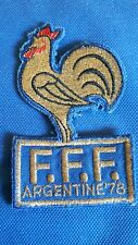 PATCH France national team football FIFA World cup Argentina 1978 78 ORIGINAL