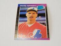 1989 Donruss #42 RANDY JOHNSON Rookie RC (Expos) HOF NM-