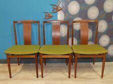 60er Jahre TEAK Stuhl Danish design Eßzimmerstuhl denmark grün 60s Chair 3xerh.