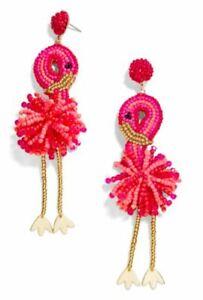BAUBLEBAR Fantasia Flamingo Bird Drop Earrings