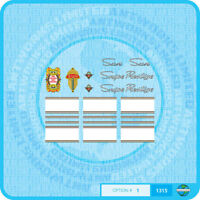 Bicycle Decals Transfers Set 1 Simoncini Stickers