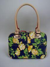 Tagnanello Multi-Colored Floral Leather Satchel - Retail $275